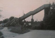 Footbridge to Carpenders Park station from St Meryls Estate