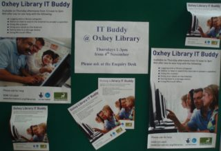 IT Buddy display | by Beverley Small