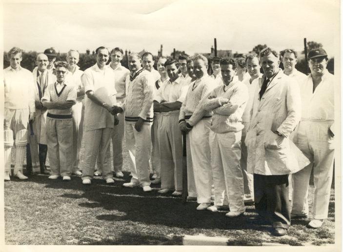 Oxhey Cricket Club (Date ?) | Denis Allison