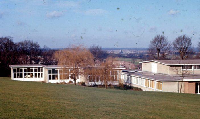 Rear view of Little Furze School - Gosforth Lane