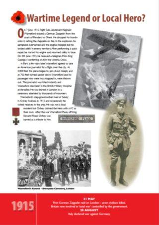 Wartime legend or local hero   Bushey Museum