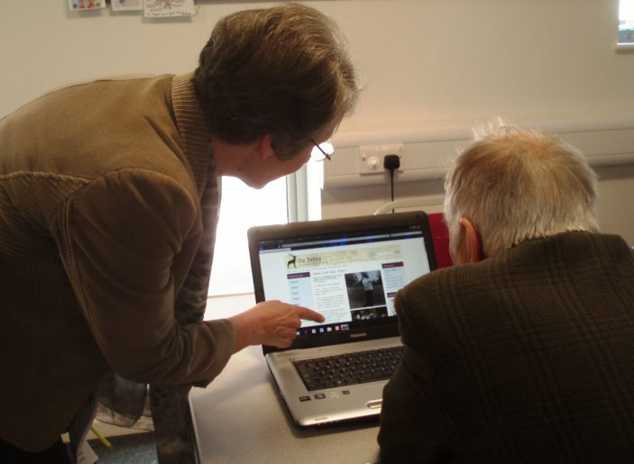 Looking at websites | by Beverley Small
