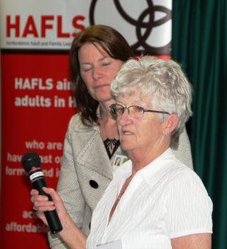 Margaret's acceptance speech | HAFLS