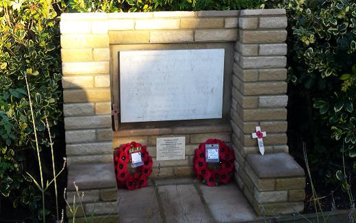 Oxhey Baptist Church war memorial | Jill Ibbott