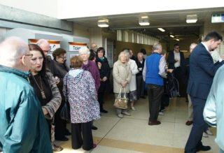 Station ticket sales | David Hall