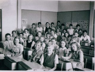 My Mum. Delia Cantwell, front row second on the left.