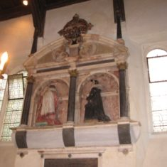 Sir James Altham memorial in oxhey chapel | Jill Abbott
