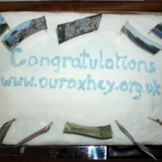 The celebration cake | by Beverley Small