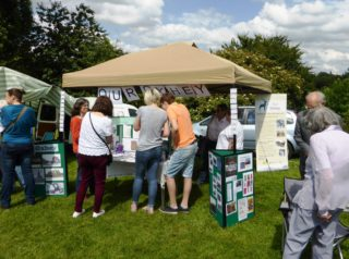 Our Oxhey stall at OVEG Fayre | by Vanessa Lacey