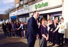Oxfam shop in Oxhey celebrate 40th anniversary