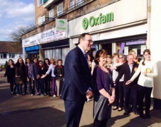 Oxfam volunteers | Beverley Small