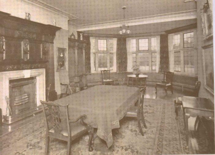 Dining Room 'Oxhey Grange' | Original Sales Brochure 1932
