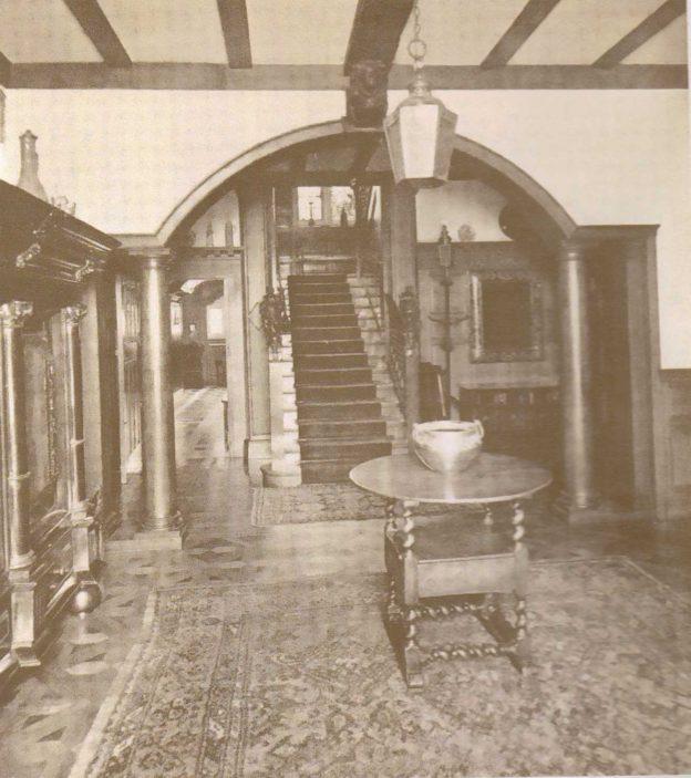 Interior View ' Oxhey Grange' | Original Sales Brochure 1932