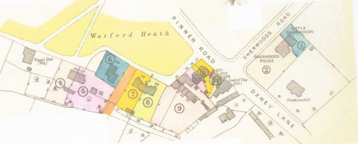 Sales Plan 'Watford Heath' | Original Sales Brochure 1932