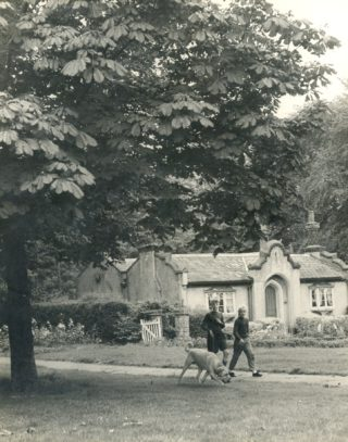 Park Keepers Cottages 1958 | Photograph Courtesy of Watford Library