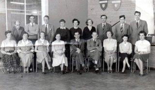 Oxhey Wood Junior School Staff 1953 | Susan Waller