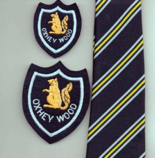 Original Tie and Badges | Susan Waller