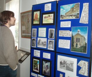 Oxhey display   by Beverley Small