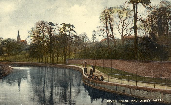 Oxhey Park and the River Colne | Hertfordshire Archives and Local Studies