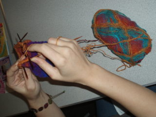 Knitting | by Beverley Small