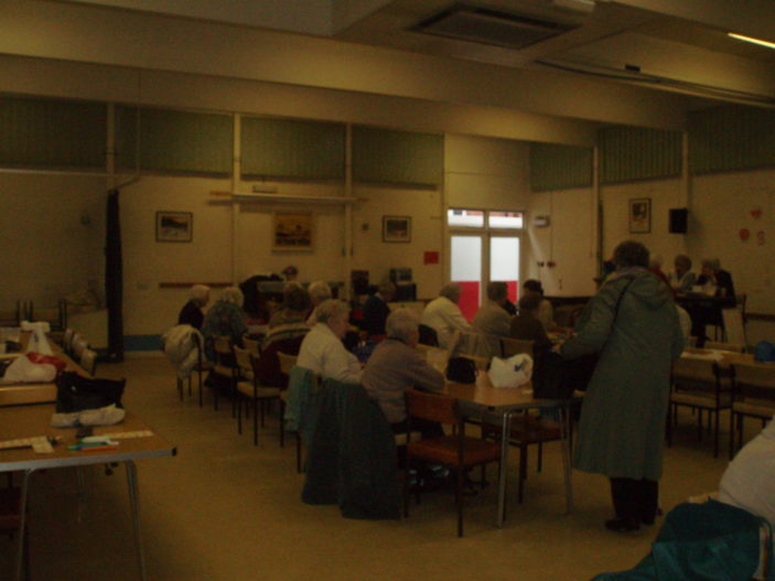 Bingo at the Clitheroe Club | by Beverley Small