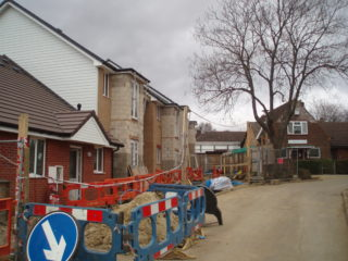 New housing in Clitheroe Gardens | by Beverley Small