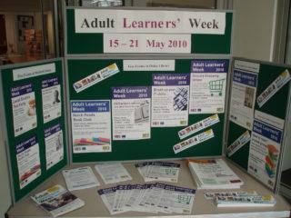 Adult learners week display | by Beverley Small