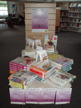 Healthy eating book display | by Beverley Small