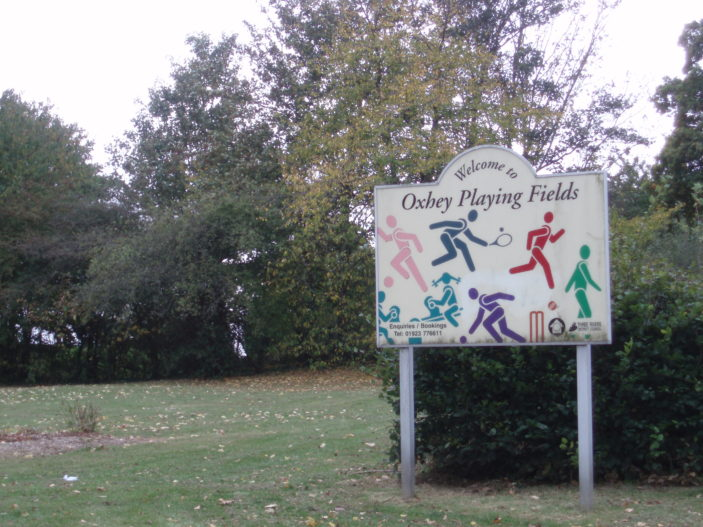 Oxhey Playing Fields | by Beverley Small