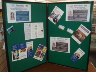 NHS First Contact display | by Beverley Small