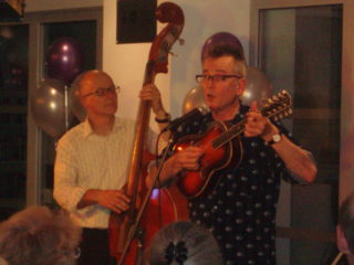John Hegley and Keith Moore | by Beverley Small