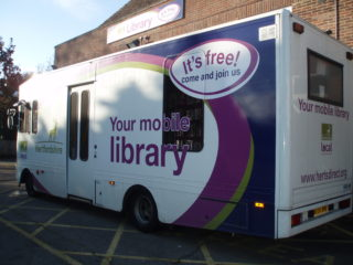 Hertfordshire mobile library 2010 | by Beverley Small