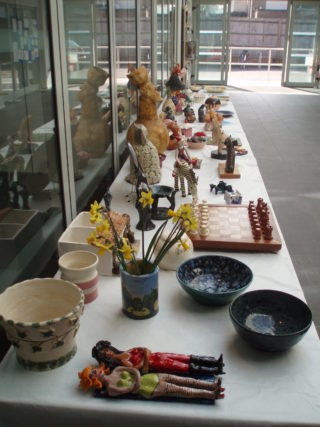 Pottery exhibition | photo by Beverley Small