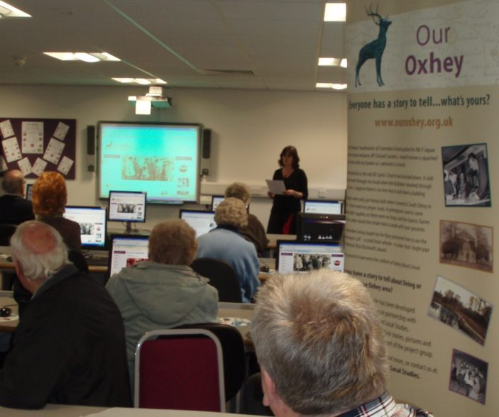 Online demonstration of Our Oxhey | by Beverley Small