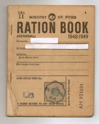 Ration Book 1948-49 | Susan Waller