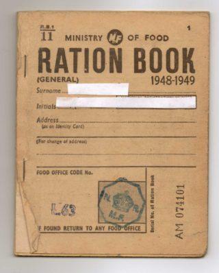 Ration Book 1948-49 | Susan Waller