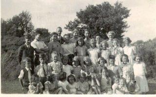 St Meryls Sunday School c 1944 | Arthur Hall