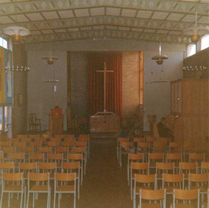 Interior of Old Church | Susan Waller (nee Davidson)