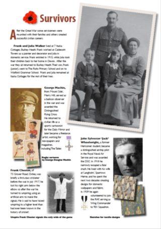 Survivors   Bushey Museum