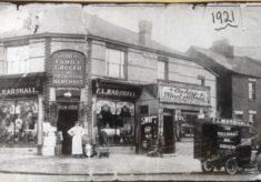 Villiers Roads shops c 1921