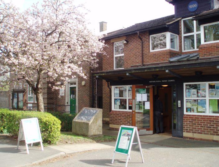 Watford Rural Parish Council building | by Beverley Small
