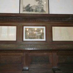Display with inscription   Emma Scott