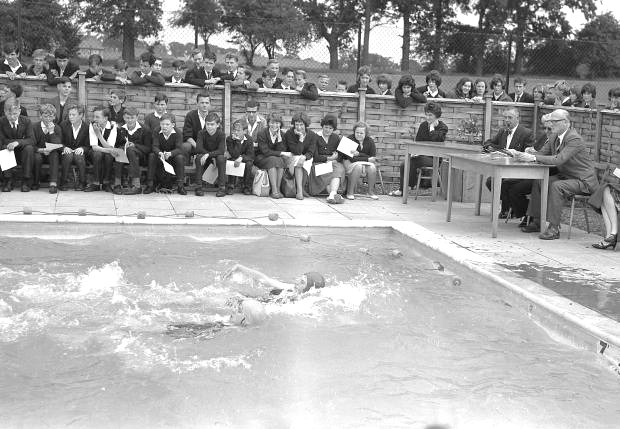 Opening of Clarendon School Swimming Pool | Courtesy of Watford Observer
