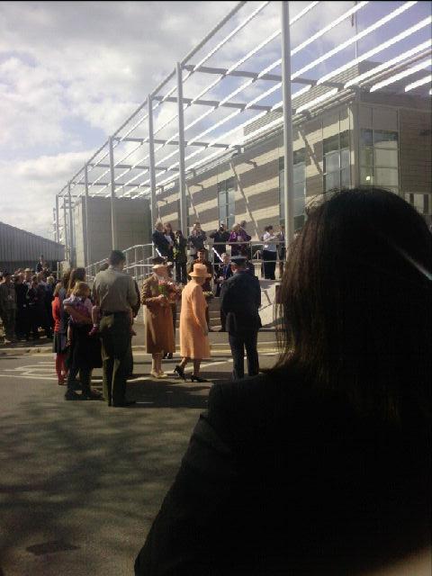 Queen arriving | Angela Killen