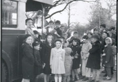 Father Christmas visits South Oxhey 1961