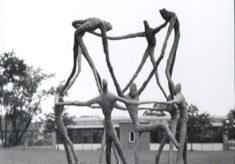 Modern Sculpture at Clarendon School