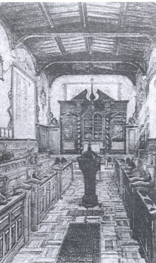 Interior of Oxhey Chapel | Unknown