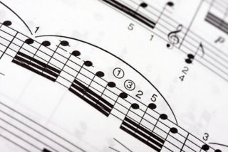 Fast musical notes on a music sheet   copyright Horia Varlen and licensed for reuse under Creative Commons licence
